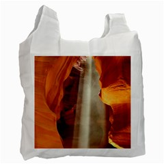 Antelope Canyon 1 Recycle Bag (two Side)  by trendistuff