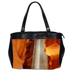 Antelope Canyon 1 Office Handbags (2 Sides)  by trendistuff