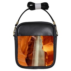 Antelope Canyon 1 Girls Sling Bags by trendistuff