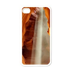 Antelope Canyon 1 Apple Iphone 4 Case (white) by trendistuff