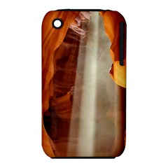 Antelope Canyon 1 Apple Iphone 3g/3gs Hardshell Case (pc+silicone) by trendistuff
