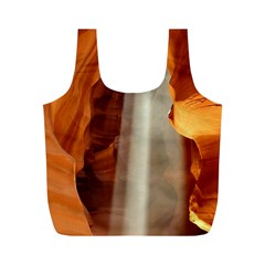 Antelope Canyon 1 Full Print Recycle Bags (m)  by trendistuff