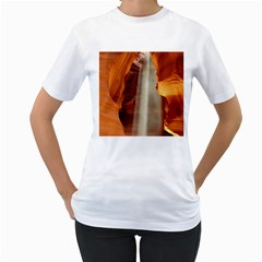 Antelope Canyon 1 Women s T Shirt (white)  by trendistuff