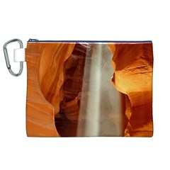 Antelope Canyon 1 Canvas Cosmetic Bag (xl)  by trendistuff