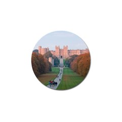 Windsor Castle Golf Ball Marker by trendistuff