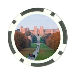 Windsor Castle Poker Chip Card Guards by trendistuff