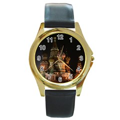 St Basil s Cathedral Round Gold Metal Watches by trendistuff