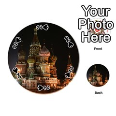 St Basil s Cathedral Playing Cards 54 (round)  by trendistuff