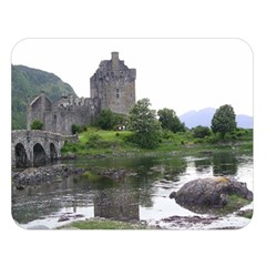 Scotland Eilean Donan Double Sided Flano Blanket (large)  by trendistuff