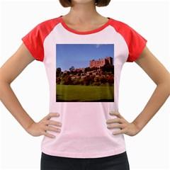 POWIS CASTLE TERRACES Women s Cap Sleeve T-Shirt by trendistuff