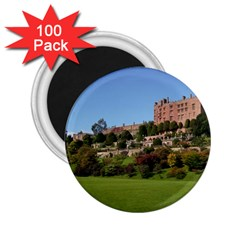 Powis Castle Terraces 2 25  Magnets (100 Pack)  by trendistuff