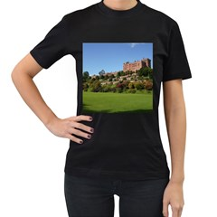 Powis Castle Terraces Women s T Shirt (black) (two Sided) by trendistuff