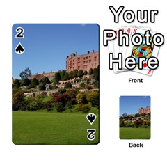 Powis Castle Terraces Playing Cards 54 Designs  by trendistuff