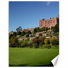 Powis Castle Terraces Canvas 12  X 16
