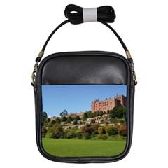 Powis Castle Terraces Girls Sling Bags by trendistuff