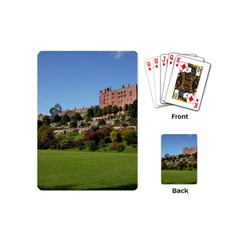 Powis Castle Terraces Playing Cards (mini)  by trendistuff