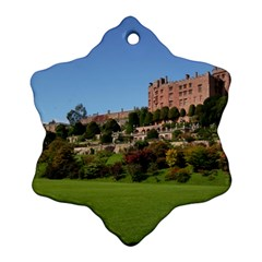 Powis Castle Terraces Ornament (snowflake)  by trendistuff