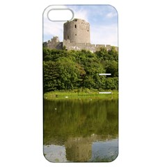 Pembroke Castle Apple Iphone 5 Hardshell Case With Stand by trendistuff