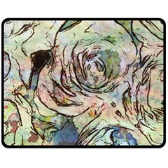 Art Studio 6216a Fleece Blanket (Medium)  by MoreColorsinLife