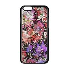 Art Studio 6216b Apple iPhone 6/6S Black Enamel Case by MoreColorsinLife