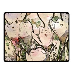 Art Studio 7216 Fleece Blanket (Small) by MoreColorsinLife