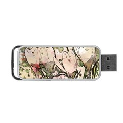 Art Studio 7216 Portable USB Flash (One Side) by MoreColorsinLife