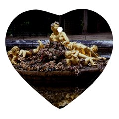 PALACE OF VERSAILLES 3 Heart Ornament (2 Sides) by trendistuff