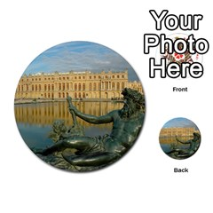 Palace Of Versailles 1 Multi Purpose Cards (round)  by trendistuff