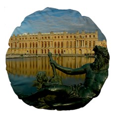 Palace Of Versailles 1 Large 18  Premium Round Cushions by trendistuff