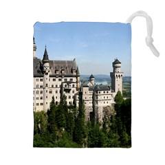 Neuschwanstein Castle 2 Drawstring Pouches (extra Large) by trendistuff