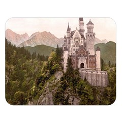 NEUSCHWANSTEIN CASTLE Double Sided Flano Blanket (Large)  by trendistuff