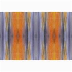 Gray Orange Stripes Painting Collage 12  X 18  by Costasonlineshop