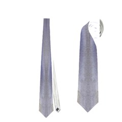 Gray Orange Stripes Painting Neckties (two Side)  by Costasonlineshop