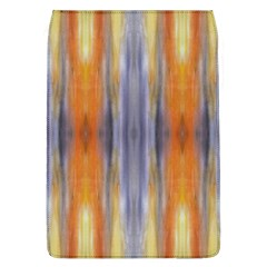Gray Orange Stripes Painting Flap Covers (l)  by Costasonlineshop