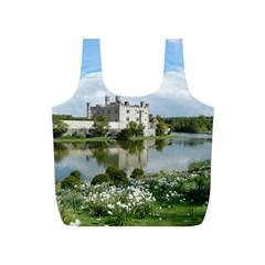 LEEDS CASTLE Full Print Recycle Bags (S)  by trendistuff