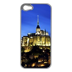 Le Mont St Michel 1 Apple Iphone 5 Case (silver) by trendistuff