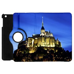Le Mont St Michel 1 Apple Ipad Mini Flip 360 Case by trendistuff