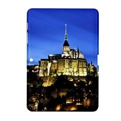 Le Mont St Michel 1 Samsung Galaxy Tab 2 (10 1 ) P5100 Hardshell Case  by trendistuff