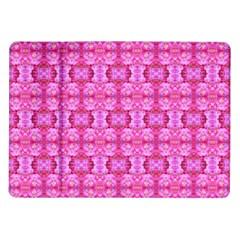 Pretty Pink Flower Pattern Samsung Galaxy Tab 10 1  P7500 Flip Case by Costasonlineshop