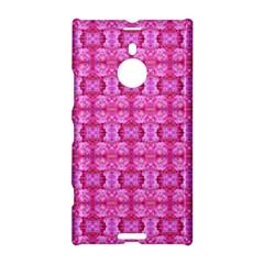Pretty Pink Flower Pattern Nokia Lumia 1520 by Costasonlineshop