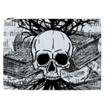 Skull & Books Cosmetic Bag (XXL)