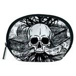 Skull & Books Accessory Pouches (Medium)