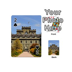 Inveraray Castle Playing Cards 54 (mini)  by trendistuff