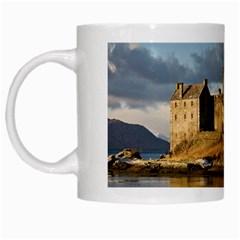 Eilean Donan Castle White Mugs by trendistuff