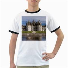 CHAMBORD CASTLE Ringer T-Shirts by trendistuff