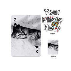 SLEEPY KITTY Playing Cards 54 (Mini)  by trendistuff