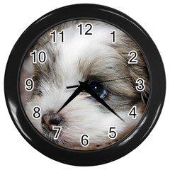 Sad Puppy Wall Clocks (black) by trendistuff