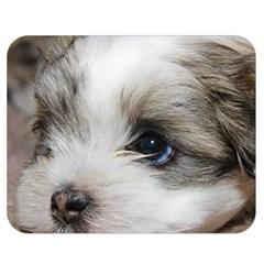 Sad Puppy Double Sided Flano Blanket (medium)  by trendistuff