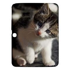 Questioning Kitty Samsung Galaxy Tab 3 (10 1 ) P5200 Hardshell Case  by trendistuff