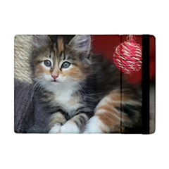 Comfy Kitty Apple Ipad Mini Flip Case by trendistuff